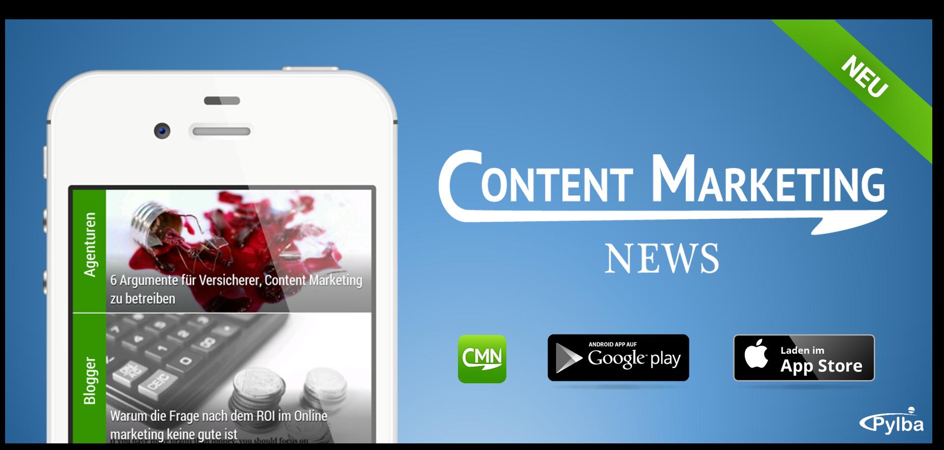 Neu im App Store: Content Marketing News