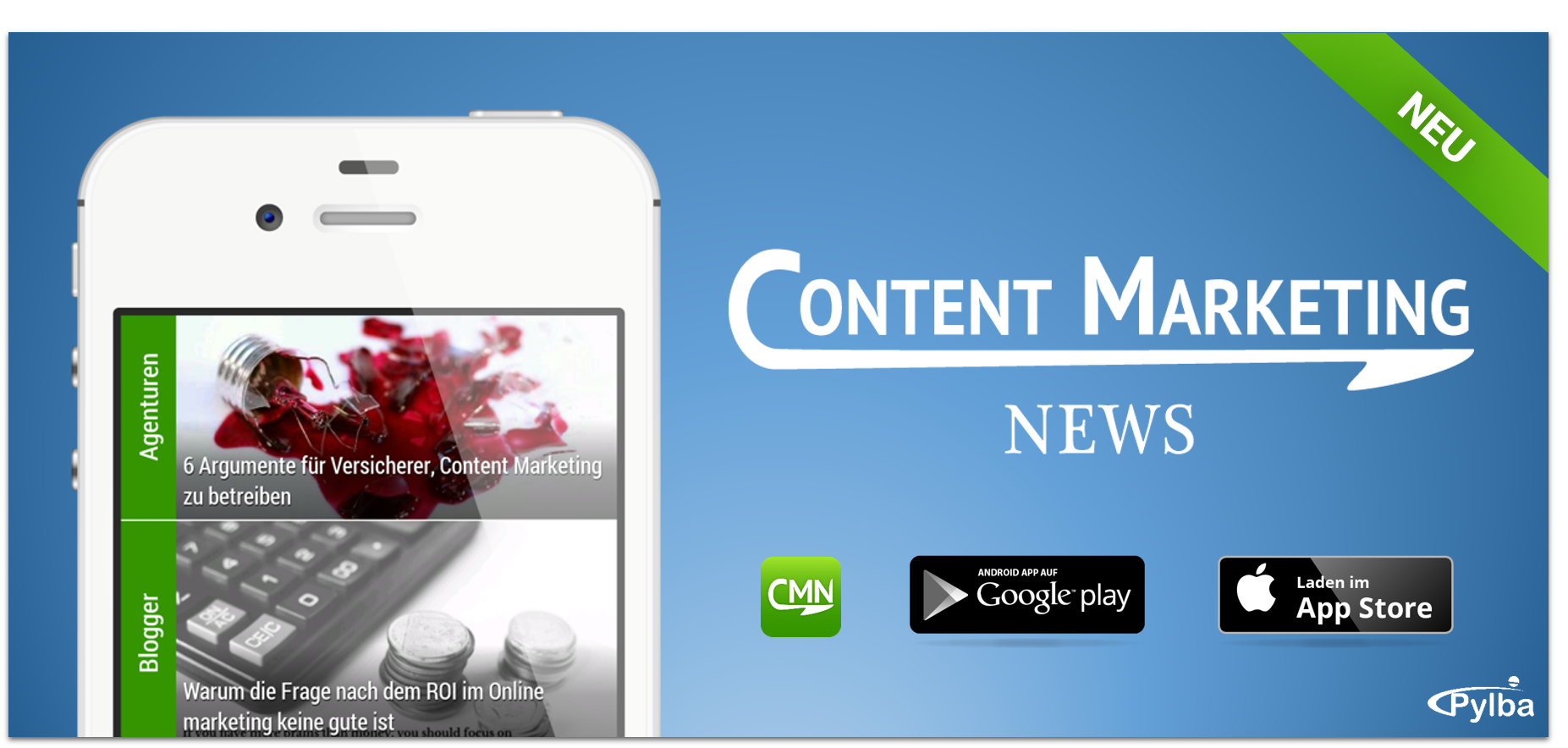 Neu im App Store: Content Marketing News