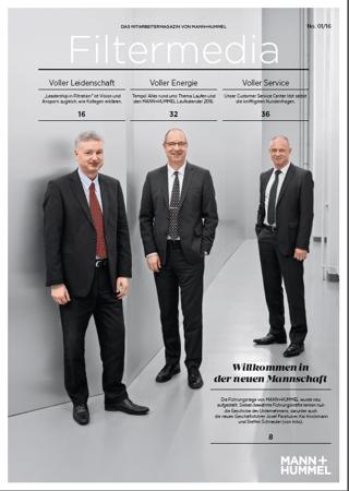 MANN+HUMMEL Filtermedia Magazin Kammann Rossi