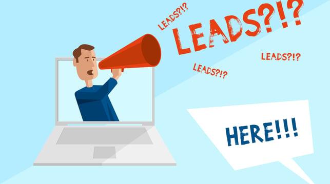 Lead Generierung Infografik