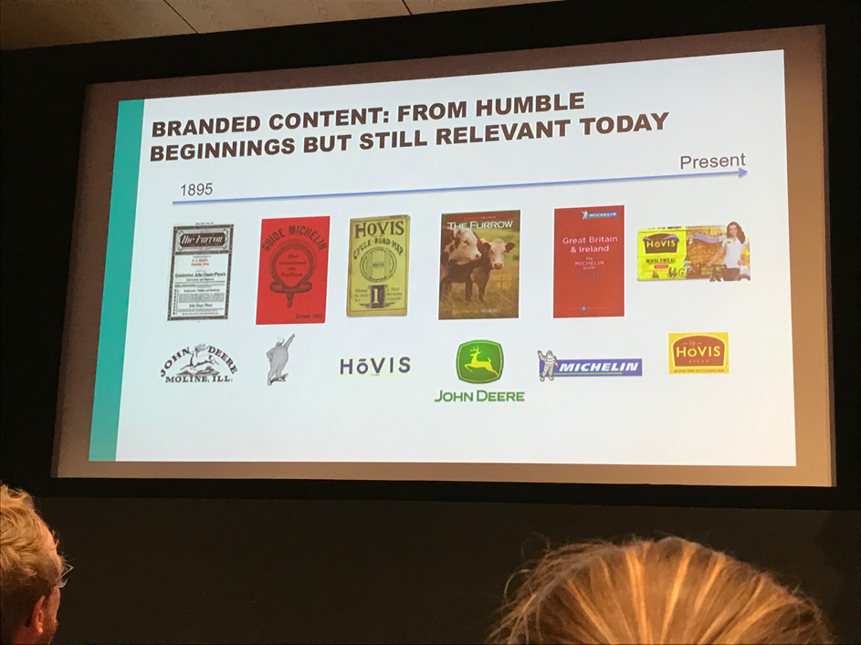 Branded Content: Humble beginnings