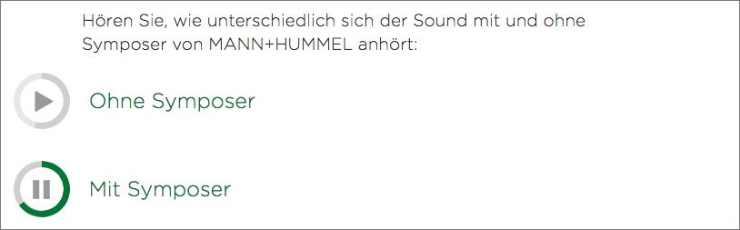 MANN+HUMMEL Soundbeispiel