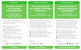 Alternativen zum Blätter PDF