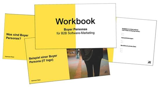 Workbook Buyer Personas für B2B Software Marketing
