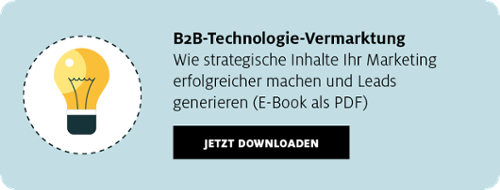 B2B-Technologie-Vermarktung E-Book zum Download