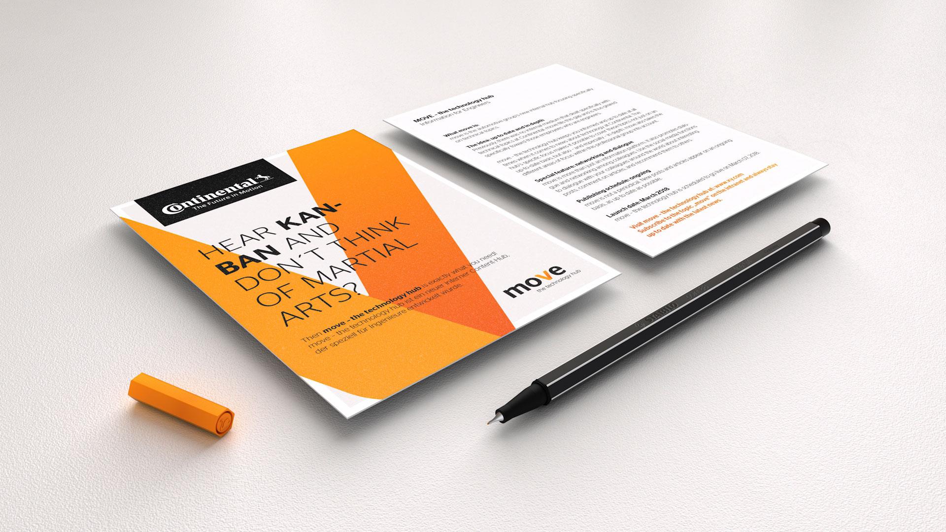 Continental AG / move – the technology hub Karte
