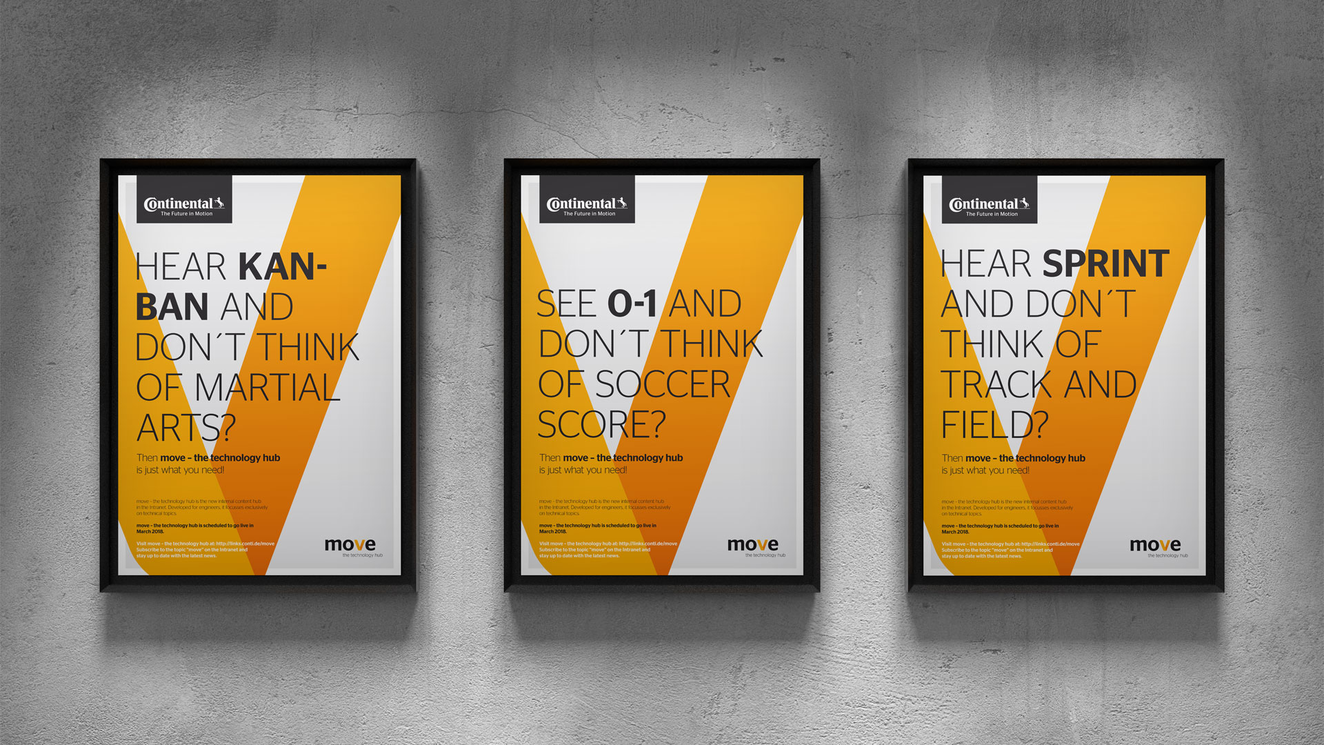 Continental AG / move – the technology hub Poster
