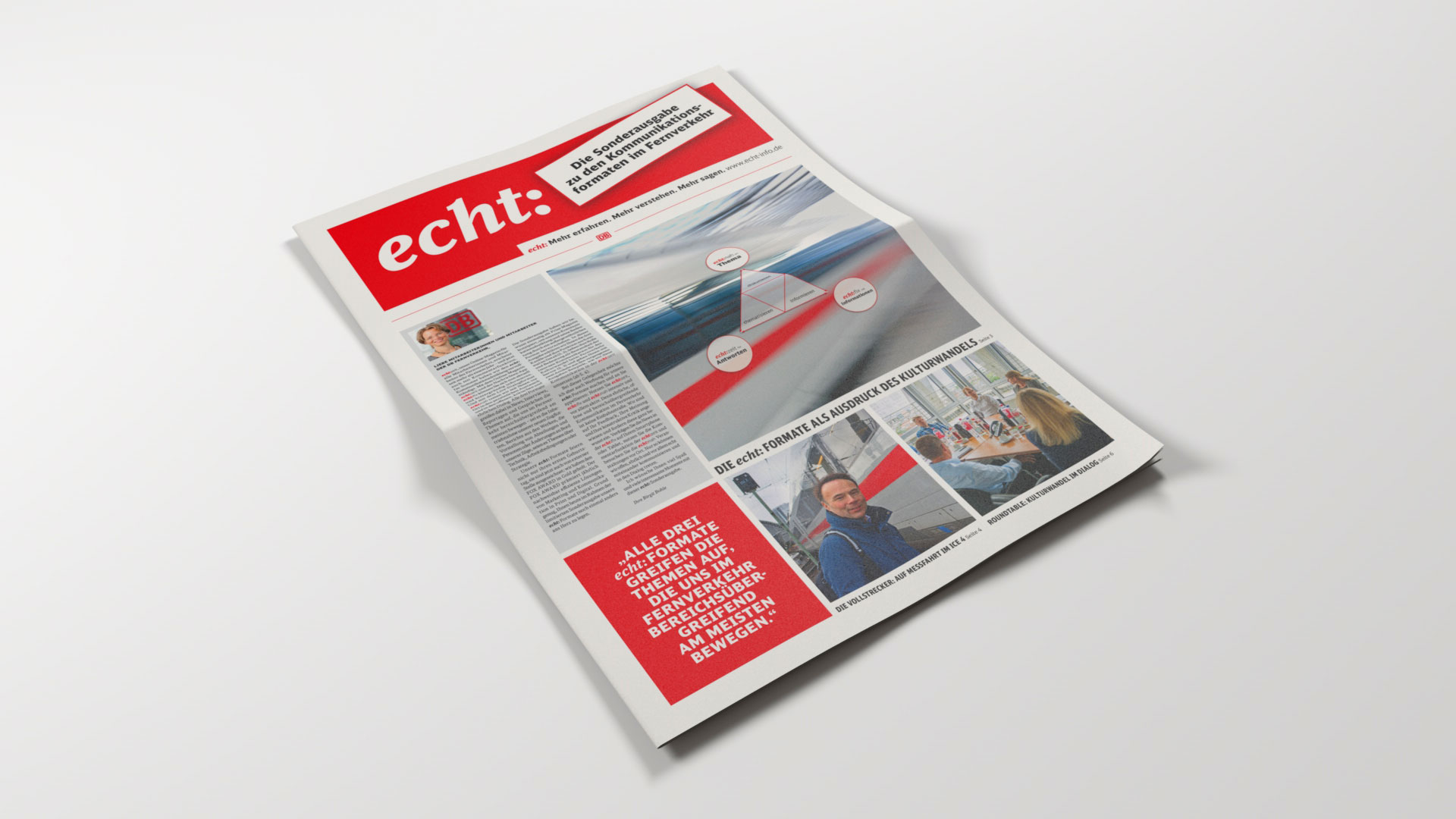 DB-Fernverkehr echt:zeit Zeitung