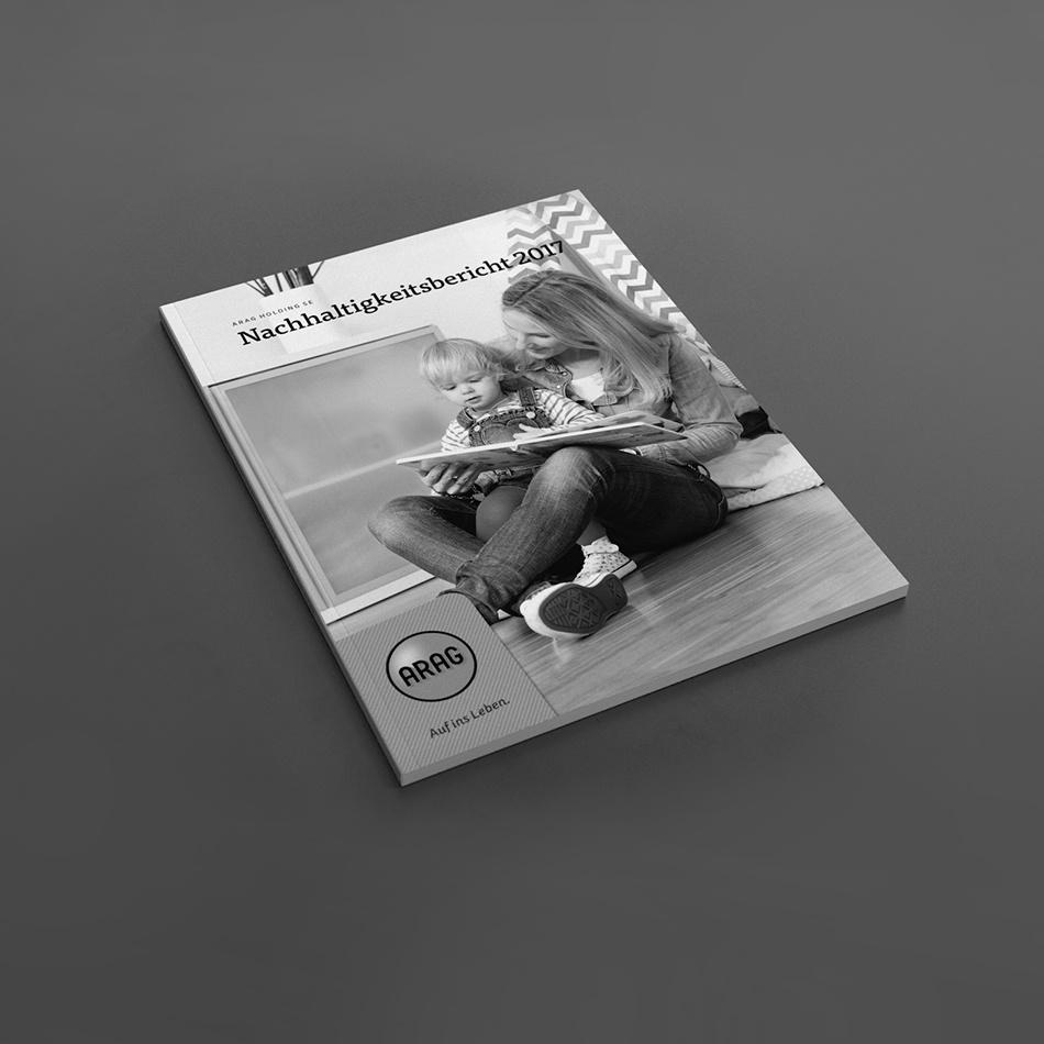 Kammann Rossi – Projekt – ARAG / Nachhaltigkeitsbericht 2016–2017