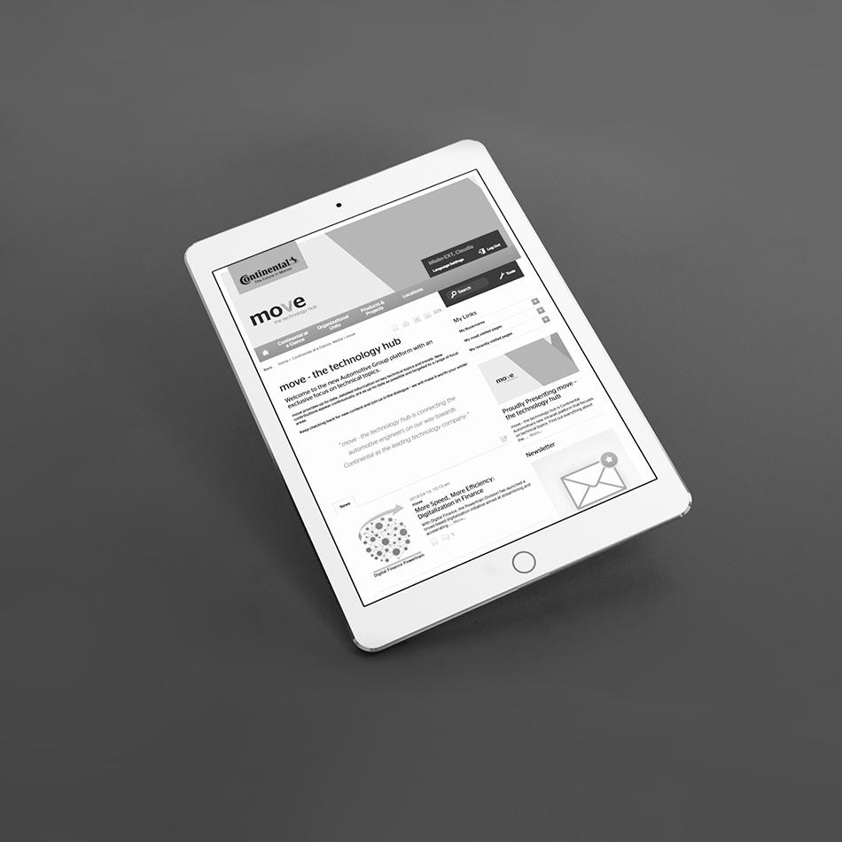 Kammann Rossi – Projekt – Continental / move – the technology hub