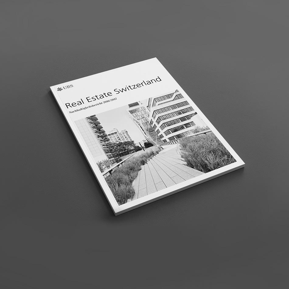 Kammann Rossi – Projekt – UBS Real Estate Switzerland / Nachhaltigkeitsbericht 2017