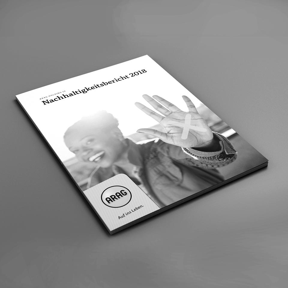 Kammann Rossi – Projekt – ARAG / Nachhaltigkeitsbericht 2018