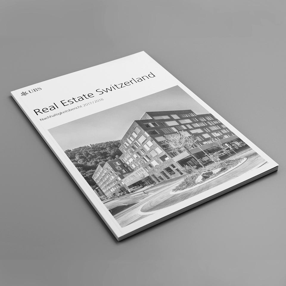 Kammann Rossi – Projekt – UBS / Nachhaltigkeitsbericht 2017/2018