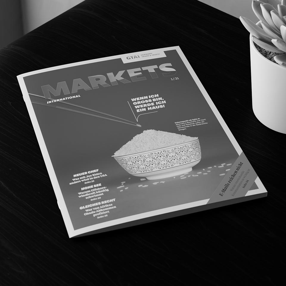 Kammann Rossi – Projekt – GTAI / Markets International 1/21