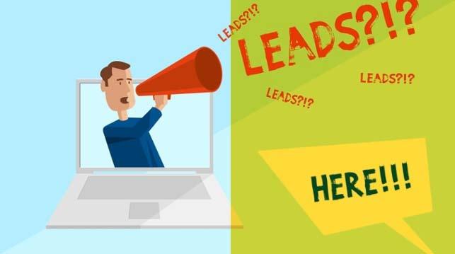 Lead-Generierung im Internet: eine Visualisierung [Infografik]