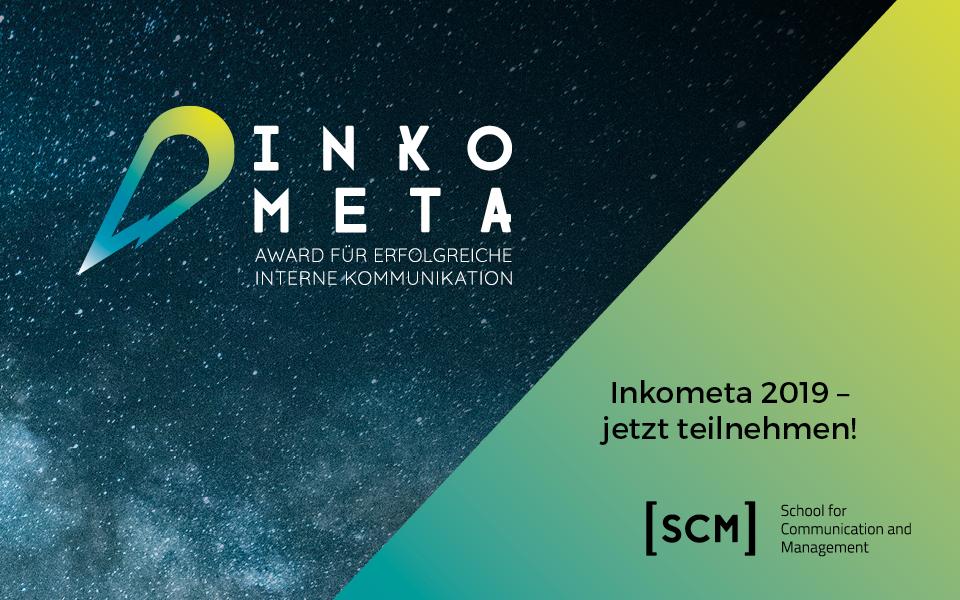 Der Inkometa Award geht in die zweite Runde!