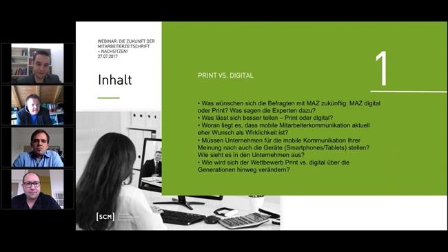 """Nachschlag: Webinar """"Die Zukunft der Mitarbeiterzeitung"""", Teil 2"""