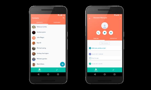 HubSpot Produkt Updates #1: Sales App für Android