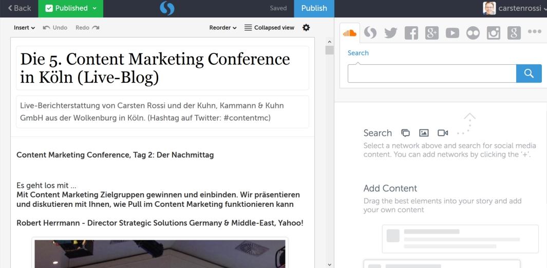 Live Blogging ist Content Marketing & Influencer Relations in Echtzeit